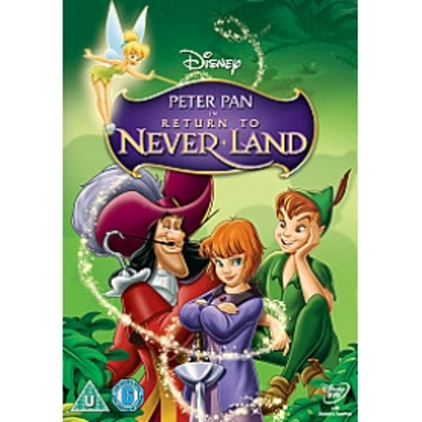 Peter Pan 2 Return To Neverland DVD