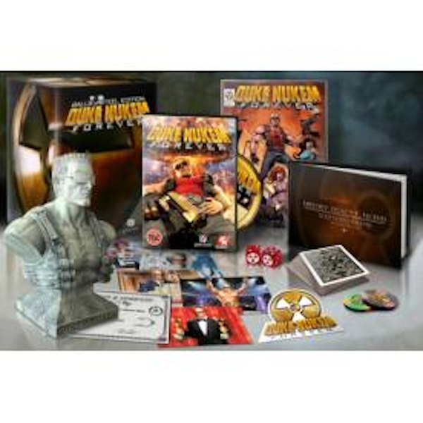 Duke Nukem Forever Balls of Steel Collector's Edition Xbox 360
