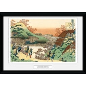 Hokusai Women Returning Home Collector Print
