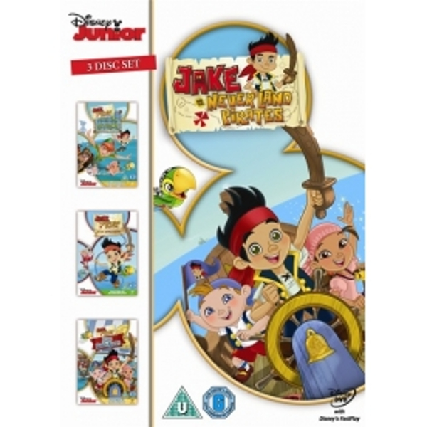 Jake & The Never Land Pirates (Yo Ho Matey's Away/Peter Pan Returns/Jake Saves Bucky) DVD