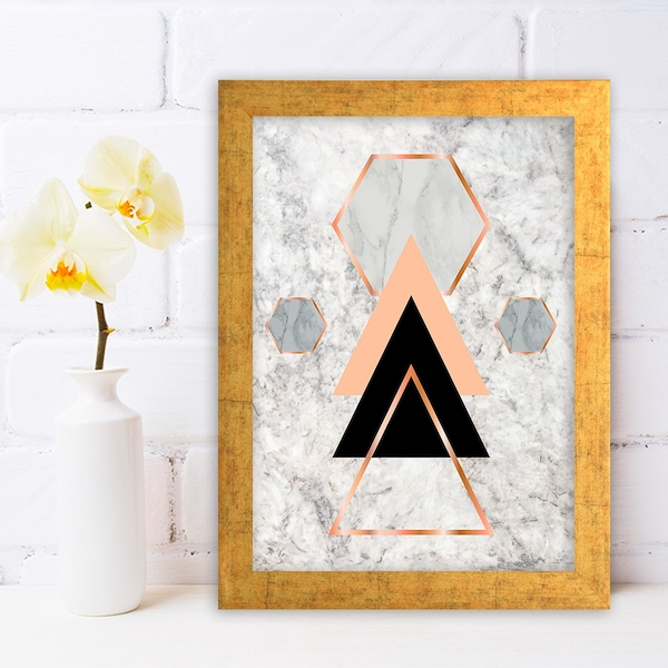 AC722522566 Multicolor Decorative Framed MDF Painting