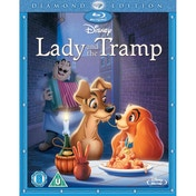 Lady and the Tramp Deluxe Edition Blu-ray
