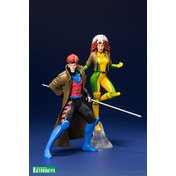 Gambit & Rogue Two-Pack Set (X-Men) Kotobukiya Statue
