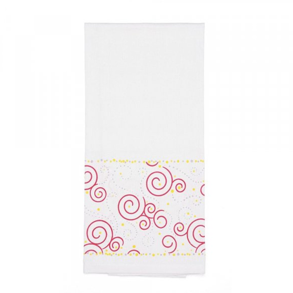 Swirls Tea Towel