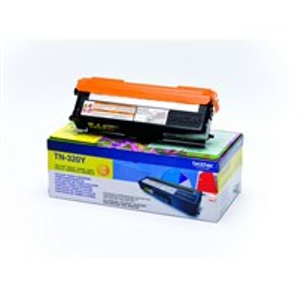 Brother TN-320Y Toner yellow, 1.5K pages