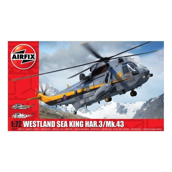Westland Sea King HAR.3/Mk.43 Series 4 1:72 Air Fix Model Kit