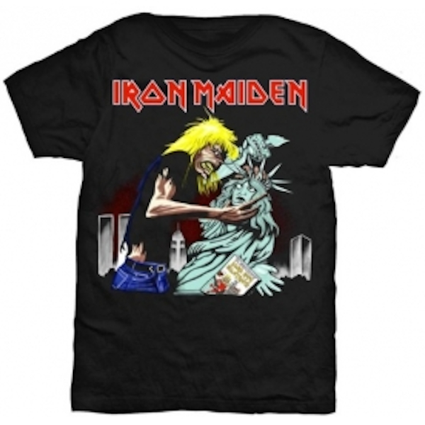 Iron Maiden New York Mens Black T Shirt: Large