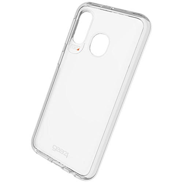 GEAR4 Crystal Palace Designed for Samsung Galaxy A40 Case, Advanced Impact Protection by D3O - Clear