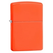 Zippo Regular Neon Orange Windproof Lighter
