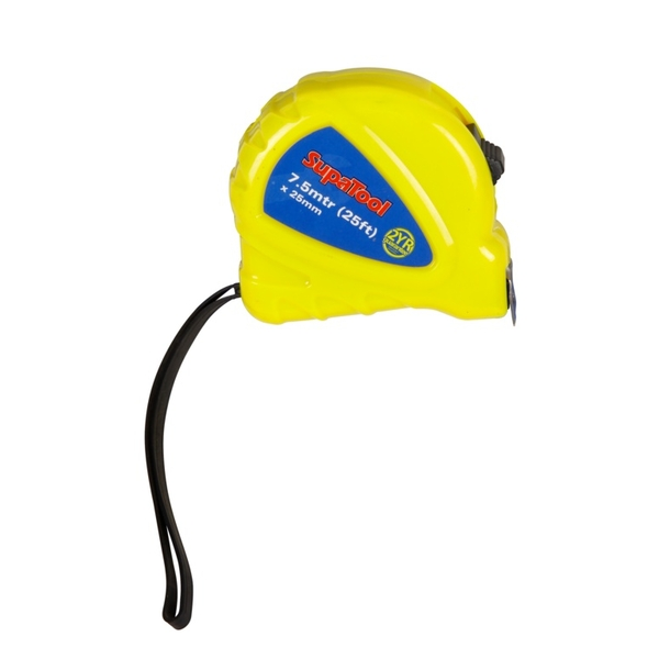 SupaTool Plastic Tape Measure 7.5m x 25mm
