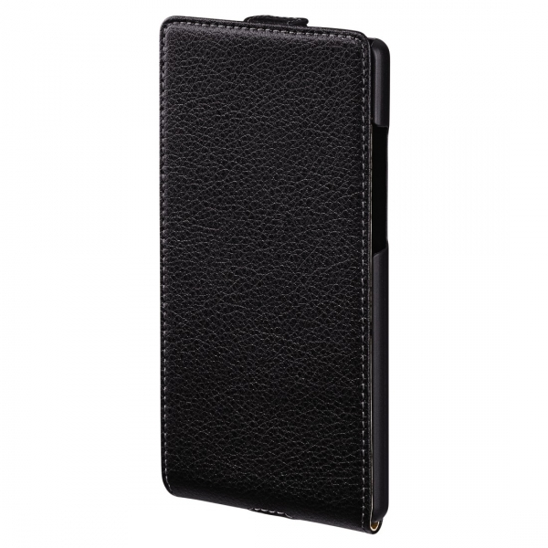 Huawei P8 Smart Flap Case (Black) - Image 1