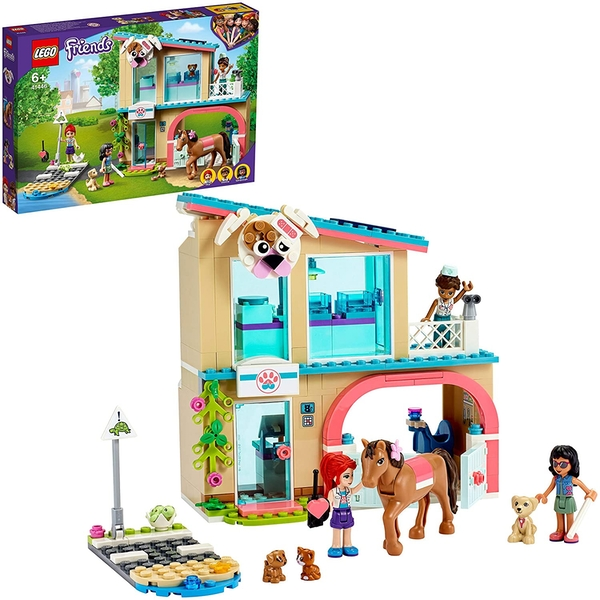 Lego Friends Heartlake City Vet Clinic Construction Set