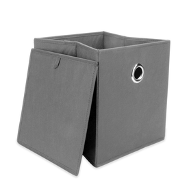 Set of 6 Collapsible Storage Boxes | M&W Grey