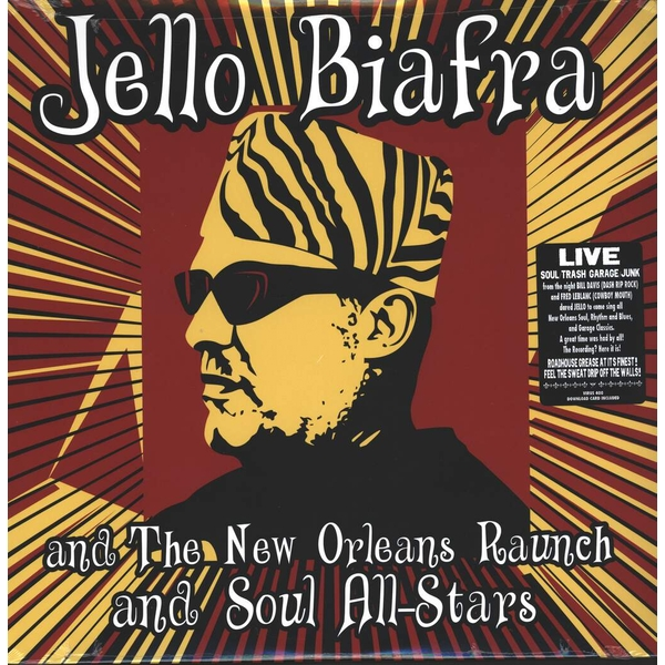Jello Biafra And The New Orleans Raunch And Soul All-Stars ‎– Walk On Jindal's Splinters Vinyl