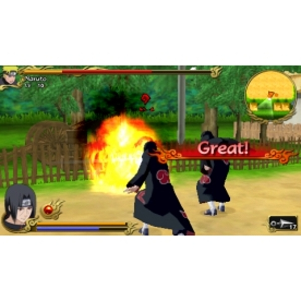 Naruto Shippuden Legends Akatsuki Rising Game (Essentials) PSP - Image 3