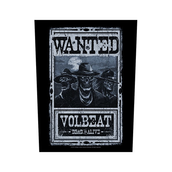 Volbeat - Wanted Back Patch