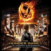 The Hunger Games Square Calendar 2013