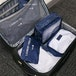 Suitcase Luggage Packing Cubes | Pukkr Blue - Image 2