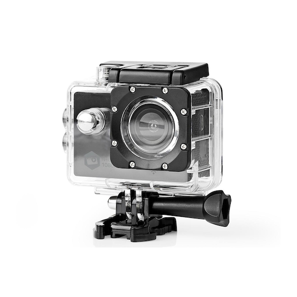 Nedis Action Cam Full HD 1080p WiFi Waterproof Case & Full Mounting Kits