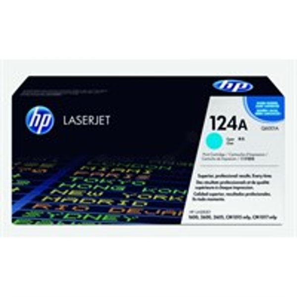 HP Q6001A (124A) Toner cyan, 2K pages @ 5% coverage