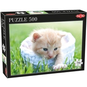 Tactic Games Kitten Puzzle (500-Piece)