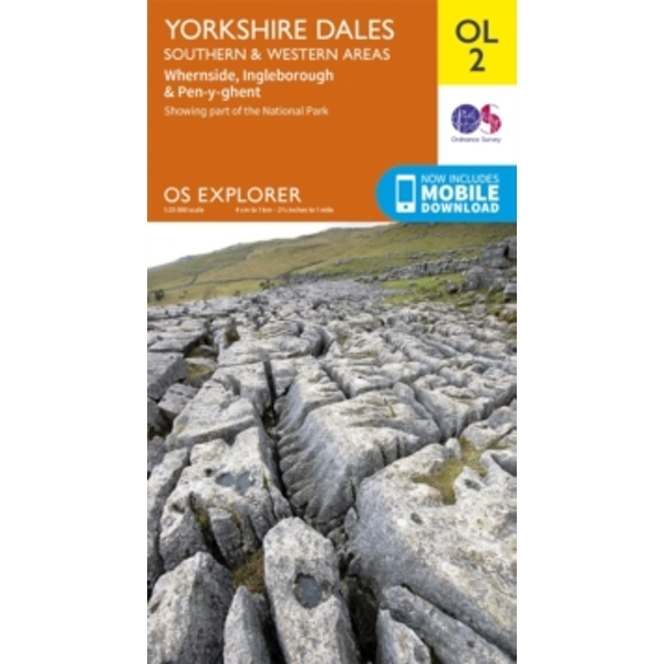 Yorkshire Dales South & Western by Ordnance Survey (Sheet map, folded, 2016)