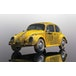 Volkwagen Beetle Rusty Yellow 1:32 Scalextric Classic Street Car - Image 2