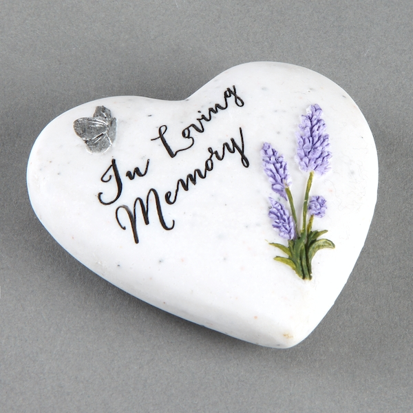 Thoughts Of You In Loving Memory Small Heart