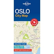 Lonely Planet Oslo City Map by Lonely Planet (2018)