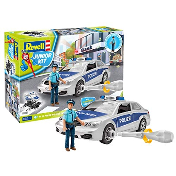 Police Car with Figure Revell Junior Kit