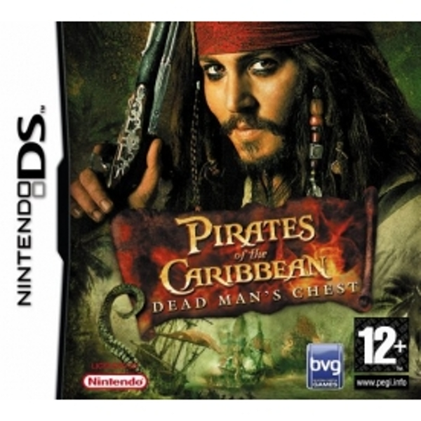 Pirates Of The Caribbean 2 Dead Mans Chest DS