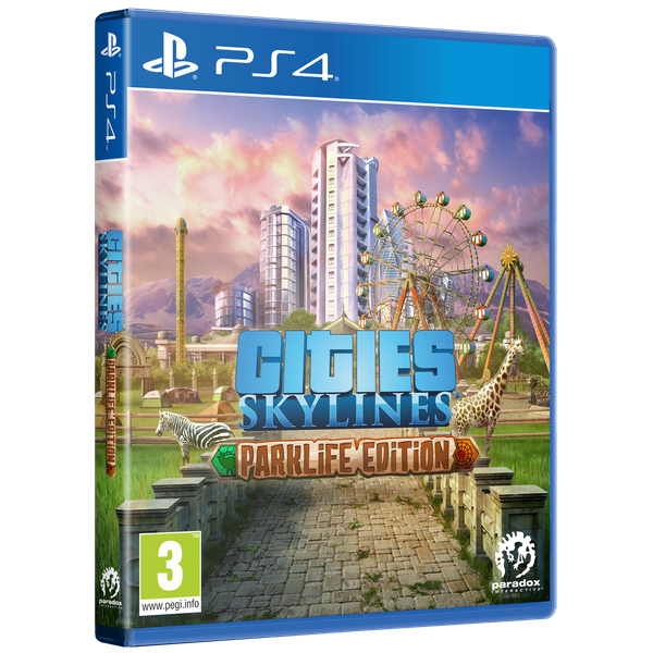 Cities Skylines Parklife Edition PS4 Game