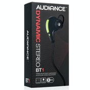Audiance X4 Wireless Bluetooth Sports Headphones - Green-Black