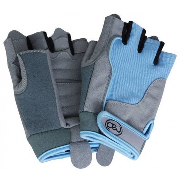 Fitness-Mad Womens Cross Training Gloves Blue Size M