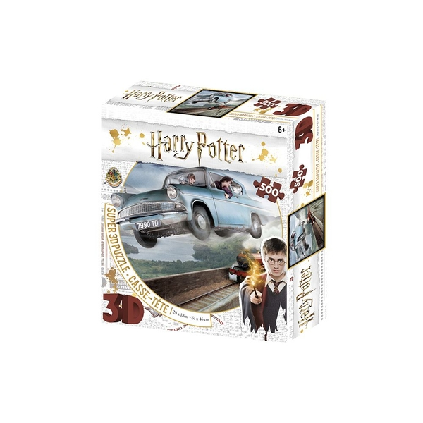 Harry Potter Ford Anglia 3D Puzzle 500 Pieces
