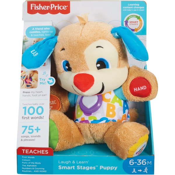 Fisher Price Laugh & Learn Smart Stages First Words Puppy