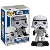 Ex-Display Star Wars Stormtrooper Pop! Vinyl Figure Bobble Head Used - Like New