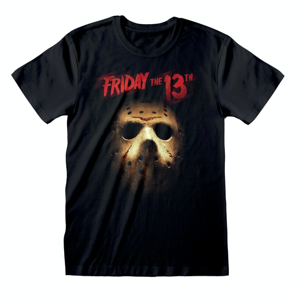 Friday The 13th - Mask Unisex Medium T-Shirt - Black