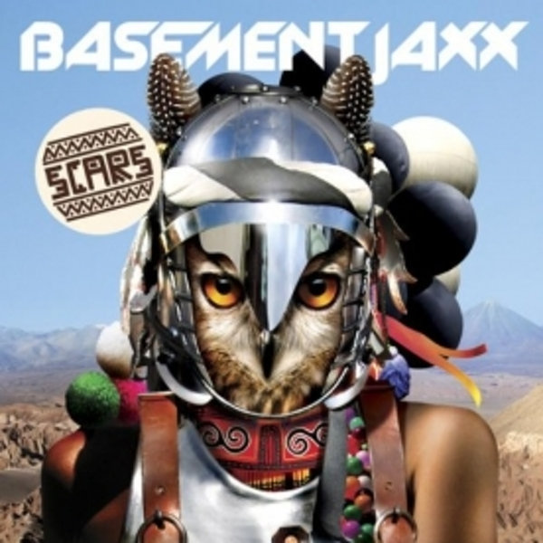 Basement Jaxx - Scars CD
