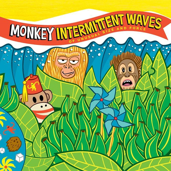 Monkey - Intermittent Waves Vinyl