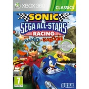 Ex-Display Sonic & Sega All-Stars Racing Game (Classics) Xbox 360 Used - Like New
