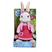 Peter Rabbit Talking Plush Lily Bobtail