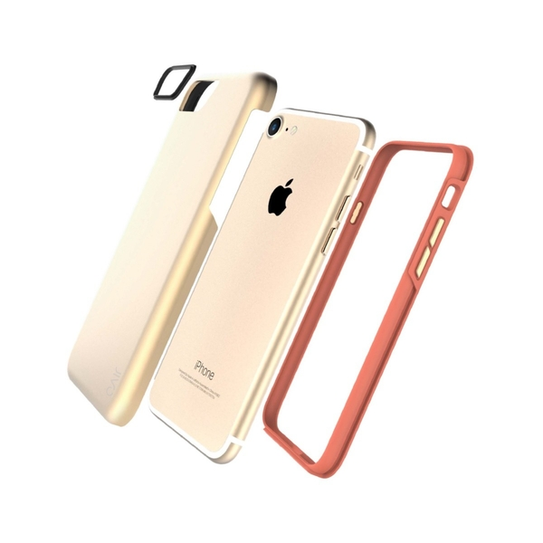 Jivo Combo- Tough Case iPhone 7/8 Gold