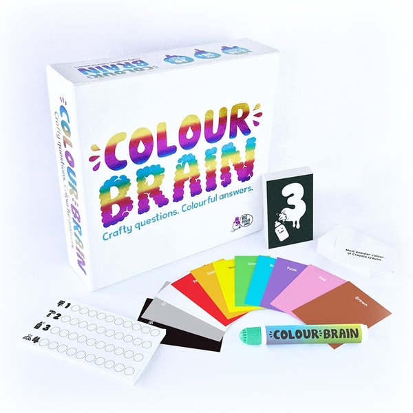 Colour Brain Board Game - Image 1