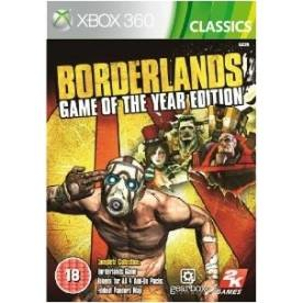 Borderlands Game Of The Year (GOTY) Edition Game (Classics) Xbox 360