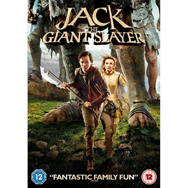 Jack The Giant Slayer 2013 DVD