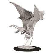 Dungeons & Dragons Nolzur's Marvelous Unpainted Miniatures - Young Bronze Dragon