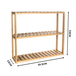 3 Tier Bamboo Shelves | M&W - Natural - Image 7