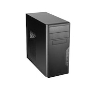 Antec VSK-3000E 2 Bay Micro ATX Solid Metal Construction Case - Black