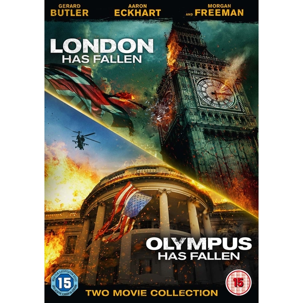 2 Movie Collection - London Has Fallen / Olympus Has Fallen DVD